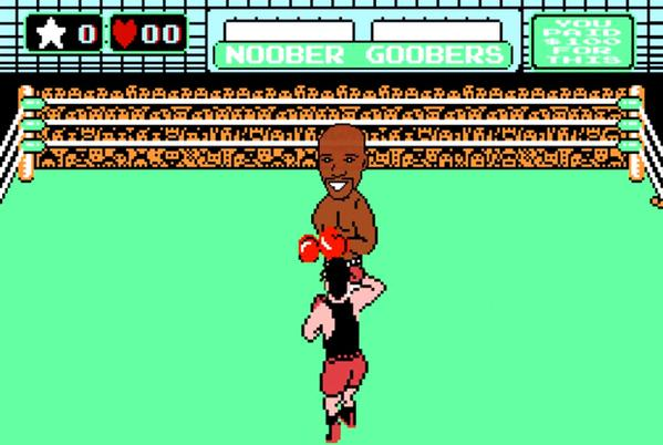 Mayweather Jr. Vs Pacquiao Recreated on 'Mike Tyson's Punch-Out!!' [Video]