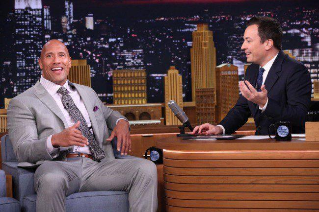 Jimmy Fallon Talks 'San Andreas' With Dwayne Johnson [Video]