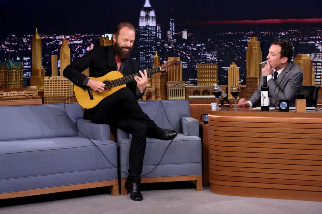 Jimmy Fallon and Sting Sing 'Rxanne' in 'Ragtime Gals' Skit [Video]