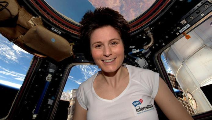 Samantha Cristoforetti Gets a Taste of Home While in Space