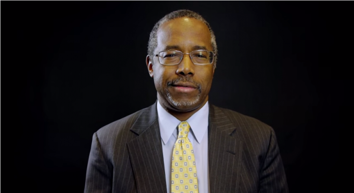 Ben Carson Desperately Needed in the White House