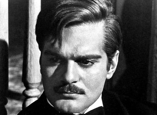 Omar Sharif, smoldering and dark-eyed leading man, died today ...