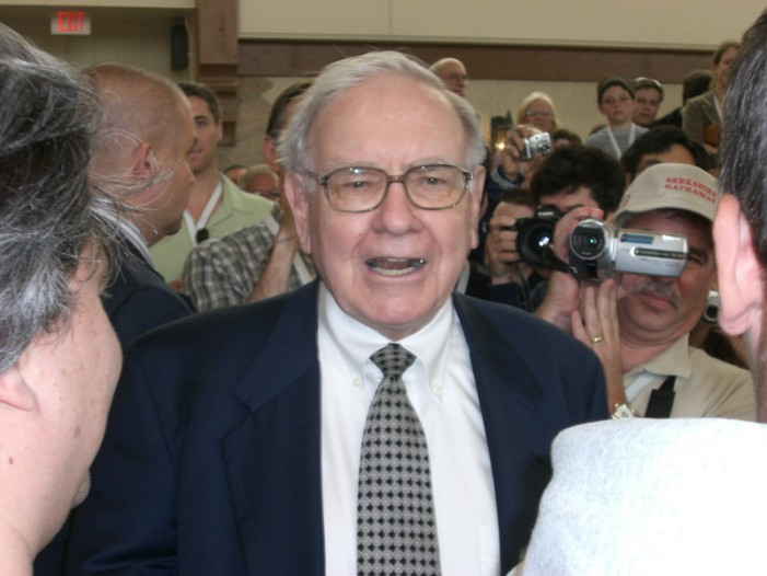 Businessman Wins Private Meal With Warren Buffett