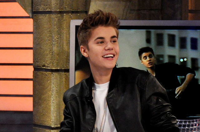 Justin Bieber, Actions Speak Louder Than Words
