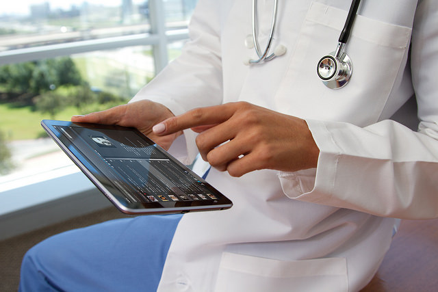 Apple Inc.'s iPad Is With a Patient on Her Way to Recovery