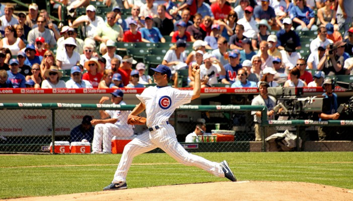 Chicago Cubs Pitcher Could Not Keep It in the Park Against L.A.