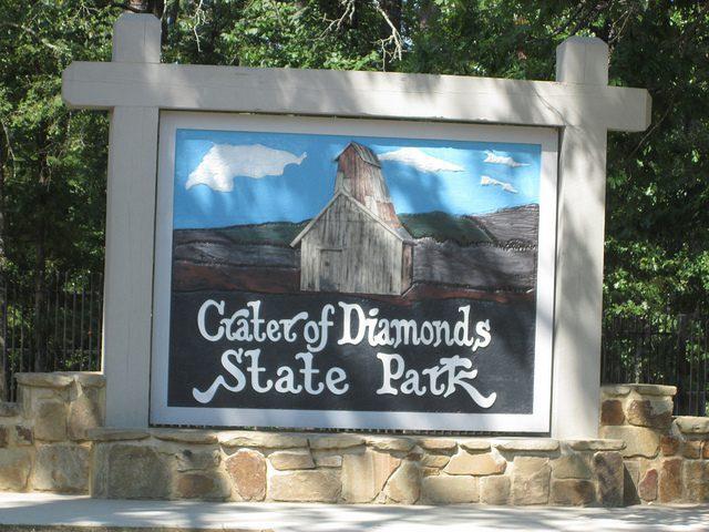Crater of Diamonds State Park Delivers Huge Sparkling Gems