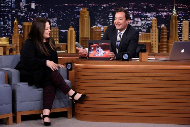 Jimmy Fallon and Melissa McCarthy Talk About 'Spy' [Video]