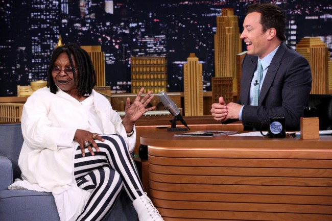 Tonight Show: Whoopi Goldberg and Christian Slater Were Fallon's Guests