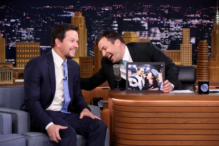 'Tonight Show' Guests Were Mark Wahlberg and Chris Colfer