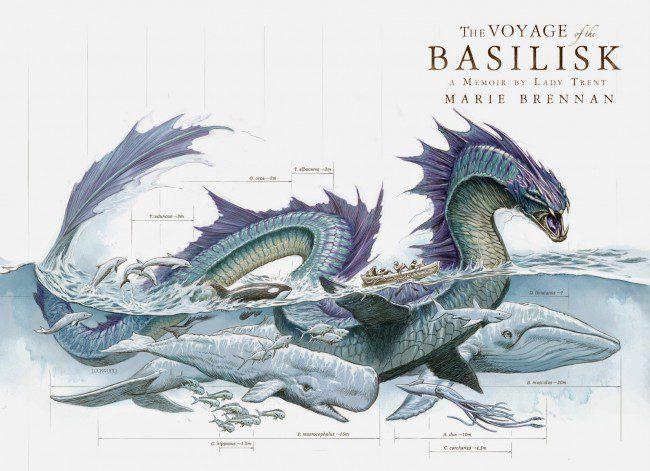 'Voyage of the Basilisk' by Marie Brennan