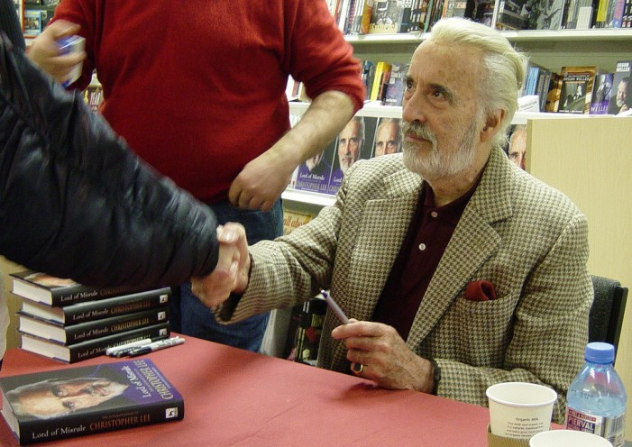 British Actor Sir Christopher Lee Dead at 93