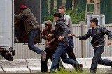 Europe Migrant Crisis Stranding Chunnel Travelers