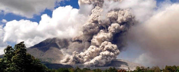 Mount Sinabung Eruption Forces Evacuation of Thousands