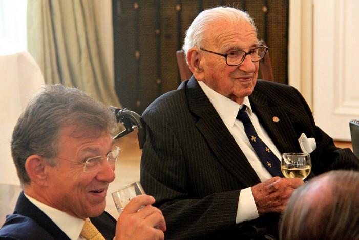 Schindler of U.K. Nicholas Winton Dead at 106