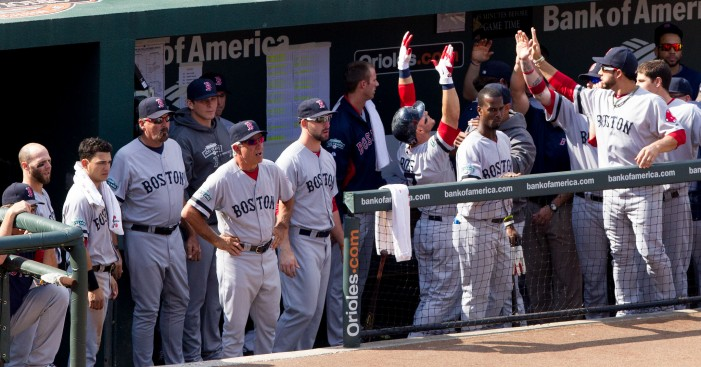 N.Y. Yankees Scrub the Red Out of the Boston Red Sox