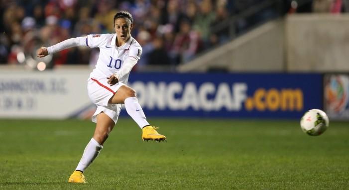 Carli Lloyd Bends It Like Beckham at 2015 FIFA Women's World Cup Final