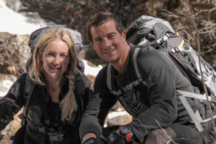 'Running Wild With Bear Grylls': Kate Hudson and Grylls in Italy