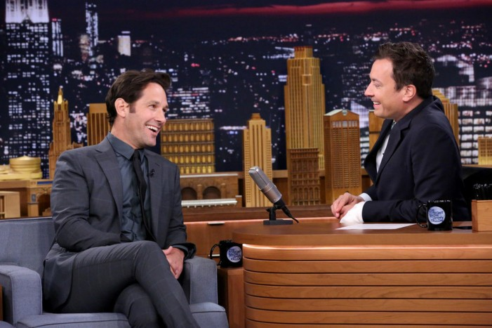 Jimmy Fallon Returned to 'Tonight Show' With Paul Rudd and Jon Glaser