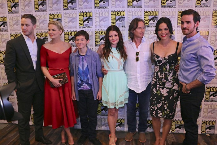 'Once Upon a Time' Teases Season 5 at Comic-Con [Video]