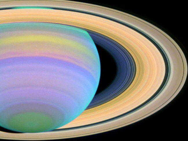 Prometheus Slices Through Saturn's F Ring