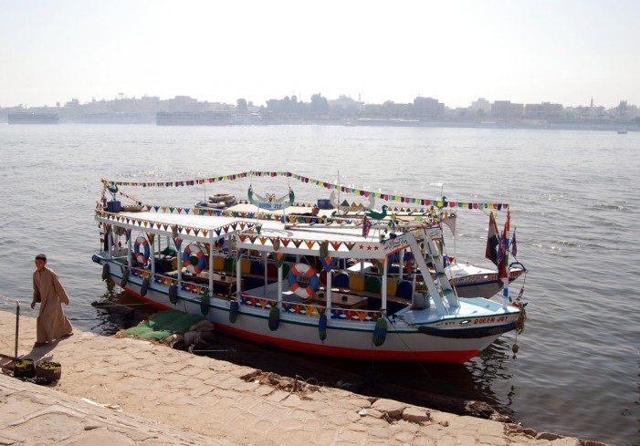 Nile River Ferry Sinks Killing 12