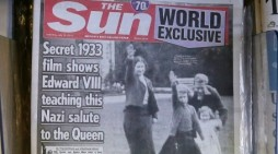 Queen Elizabeth Giving Nazi Salute as Child Upsetting on 2 Levels