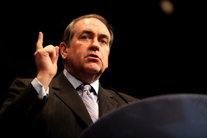 Mike Huckabee Uses a Religious Approach to His Political Policies