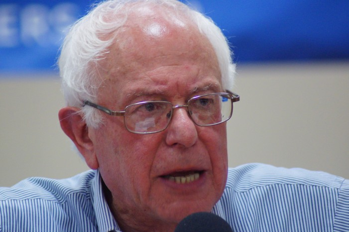Bernie Sanders Is Competing With Hillary Clinton to Win the Liberal Vote