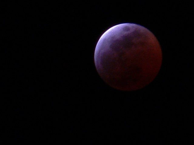 Lunar Eclipse Supermoon Graces September Night Skies