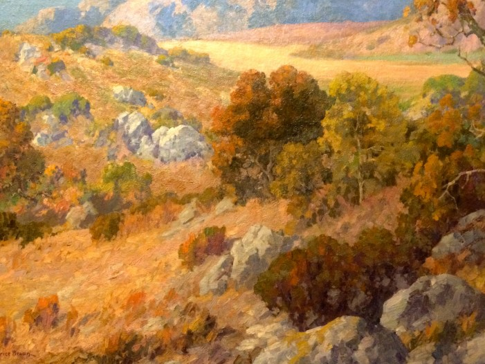 California Impressionism Art at Autry From Unusual Gardena High Collection