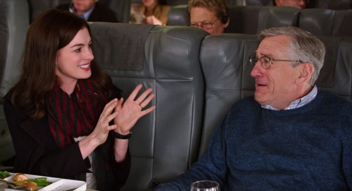 Robert DeNiro Plays Against Type but Enjoyable as 'The Intern'