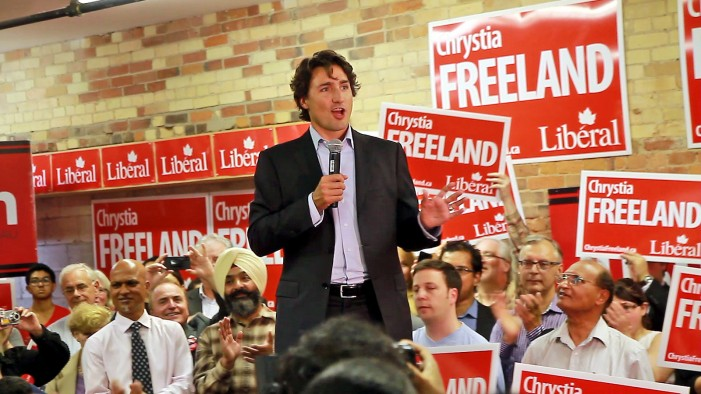 Canada Chooses Trudeau to Lead Nation by Surprising Landslide