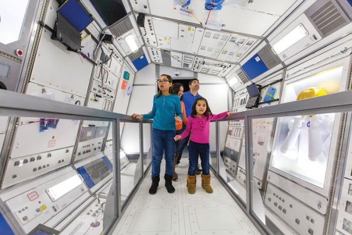 'Journey to Space' for Earthbound at California Science Center