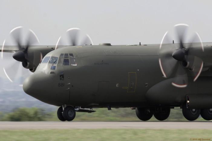 Military Cargo Transport Plane Crash Kills Five U.S. Troops