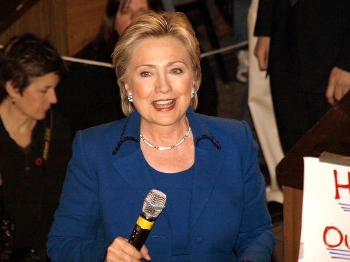 Hillary Clinton Is Pushing Gun Control Issue