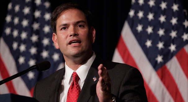Marco Rubio Moves Off His Inclusive Position