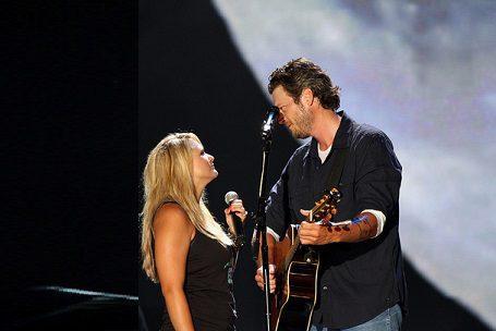Blake Shelton and Gwen Stefani Voice Their Love [Video]