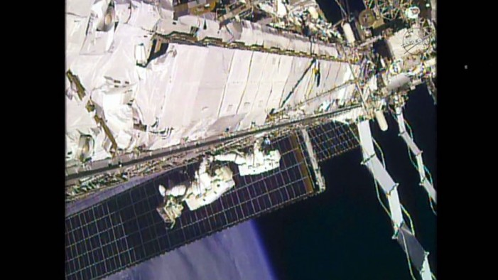 NASA Astronauts Use Marathon Spacewalk to Make Repairs on ISS