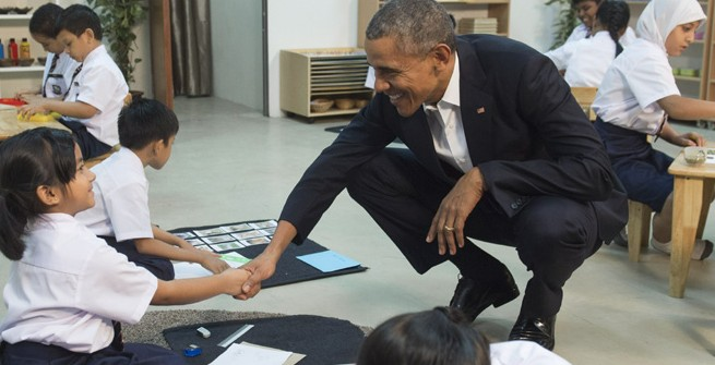 8-Year-Old Helps Obama Illustrate Refugee Plight
