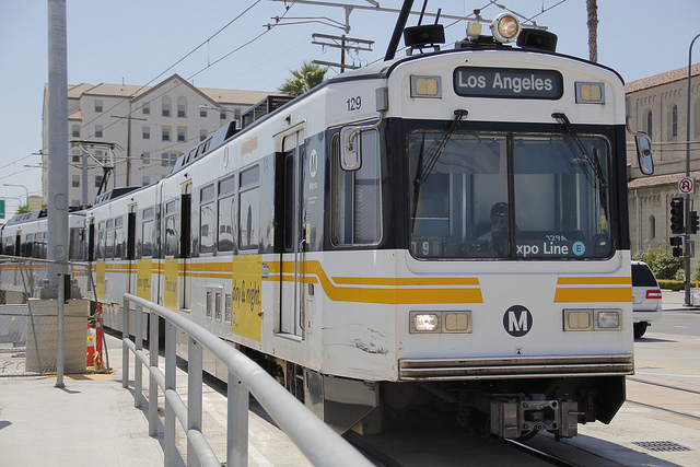 Expo Line Derailed in Santa Monica