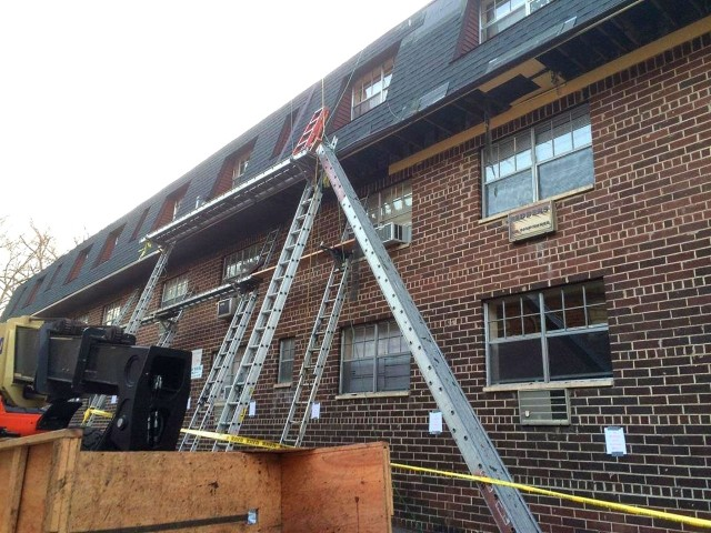 Scaffolding Collapse Leaves Two People Critically Injured