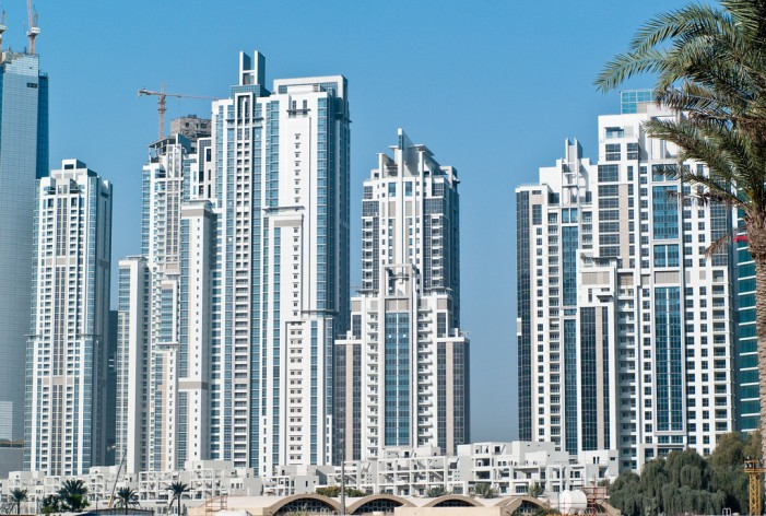 Skyscraper Fire in Dubai