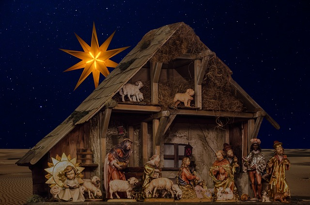 Nativity Scene, the Site of a $50K Donation