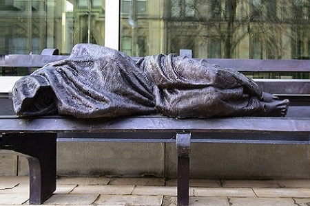 Homeless Jesus Statue Sparks Controversy Video