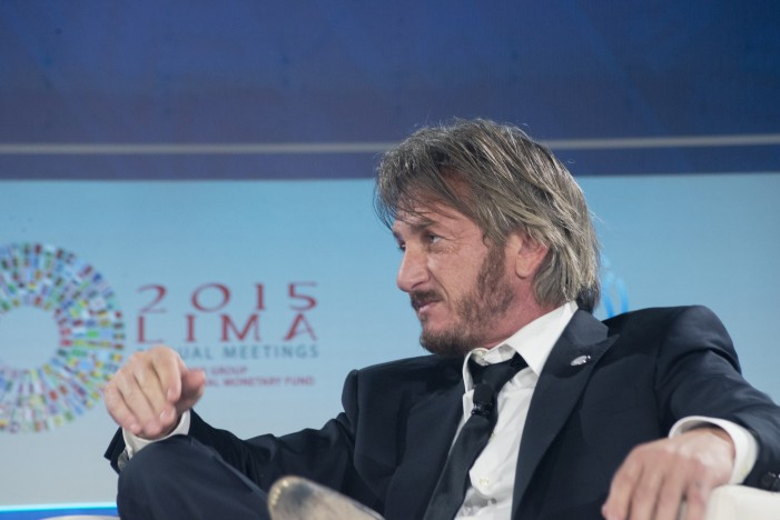 Sean Penn Pressed to Defend His Journalistic Style