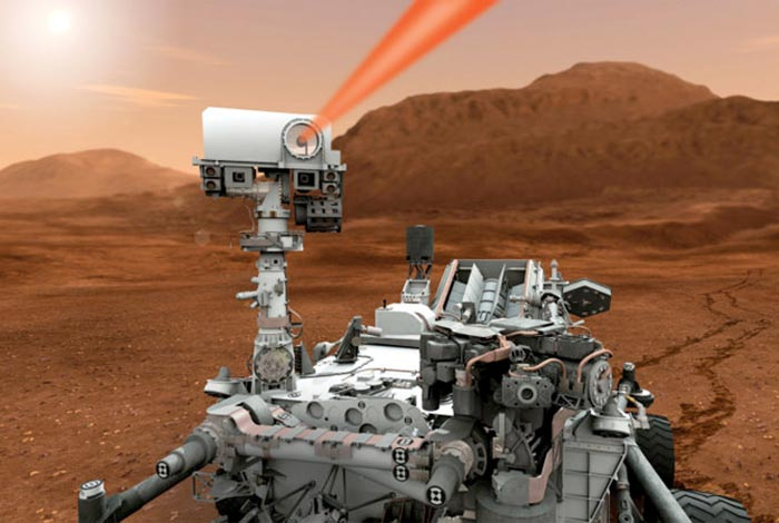 Mars Curiosity Rover Shoots Self-Portrait