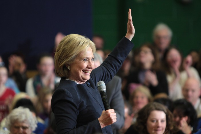 Hillary Clinton Receives Endorsement From Boston Globe Editorial Board