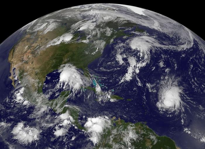 NASA Tracks Tropical Storm Pali
