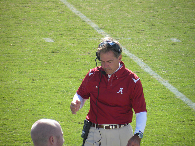 NFL Eyes Alabama Head Coach Nick Saban